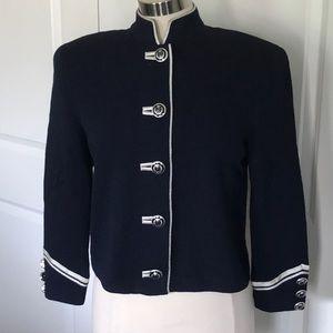 St. John Collection navy Jacket 8